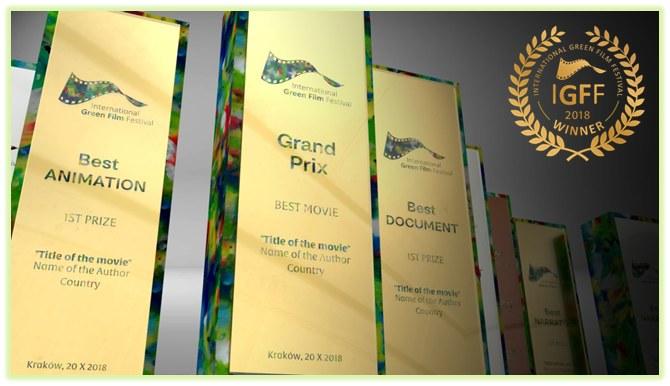 Nagrodzeni otrzymają wyjątkowe recyklingowe statuetki /Materiały prasowe