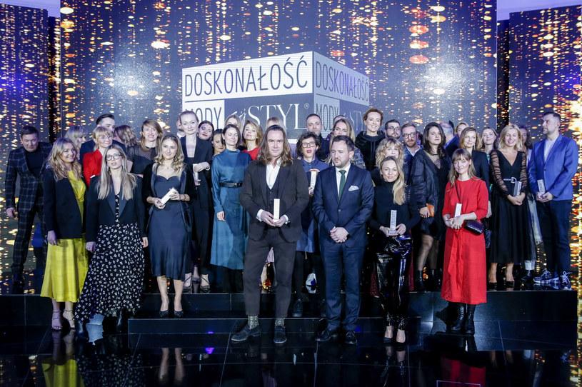 Nagrodzeni w plebiscycie Doskonałość Mody 2019 / Jacek Kurnikowski /AKPA