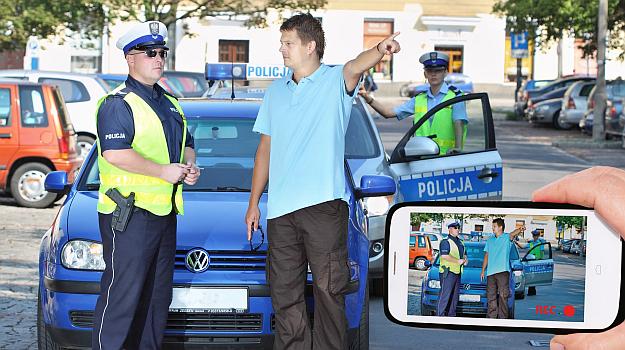 Nagrywanie policji /Motor
