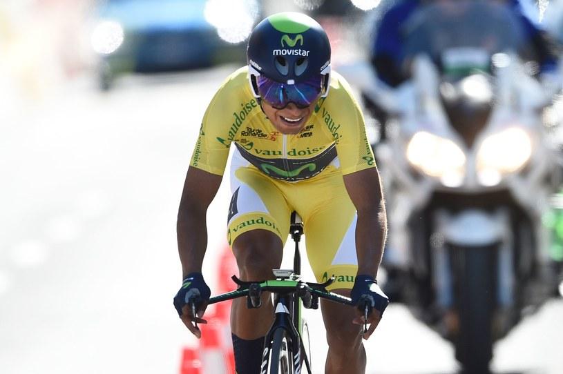 Nairo Quintana wygrał kolejny wyścig w karierze /AFP