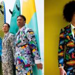 Najbardziej kolorowe garnitury na świecie!