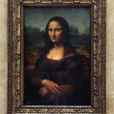 """Najbardziej znane dzieło Leonarda Da Vinci - """"Mona Lisa"""" /AFP"""