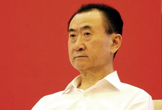 Najbogatszy człowiek w Chinach magnat rynku nieruchomości i przemysłu rozrywkowego Wang Jianlin /AFP