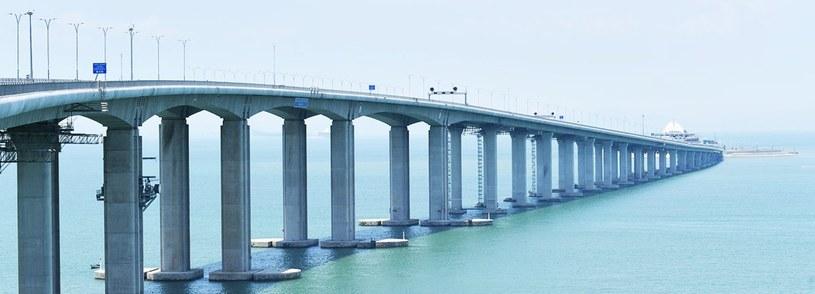 Najdłuższy most morski już otwarty /materiały prasowe
