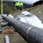 Najdłuższy podwodny kabel zasilający w połowie skończony