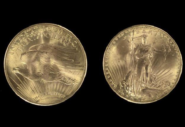 Najdroższa moneta USA /AFP