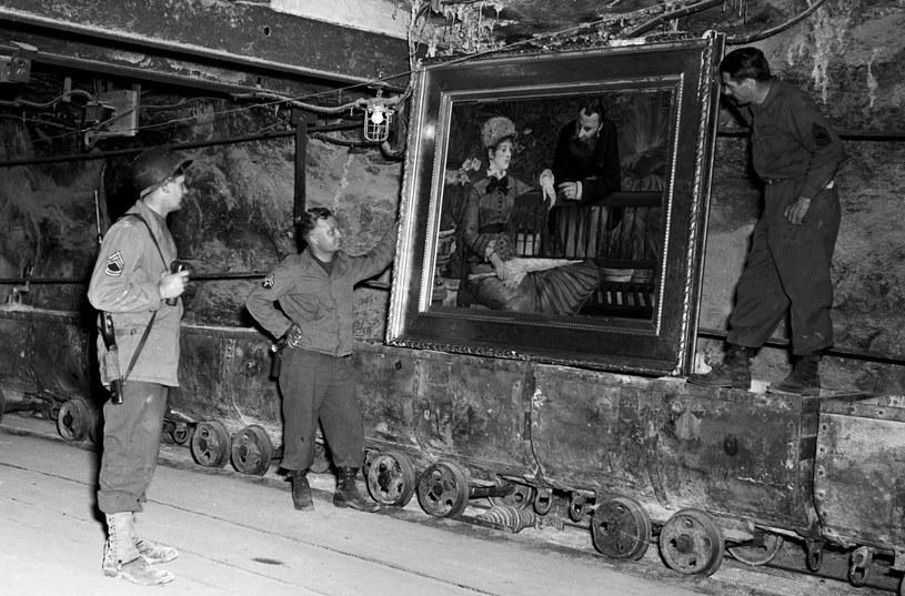 Najdroższe obrazy na świecie znajdowały się w kopalnianych sztolniach /US Army /materiały prasowe