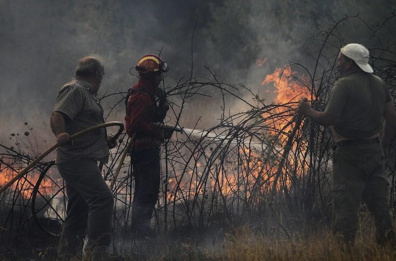 Najgorsza sytuacja panuje w okolicach Covilha /PAP/EPA