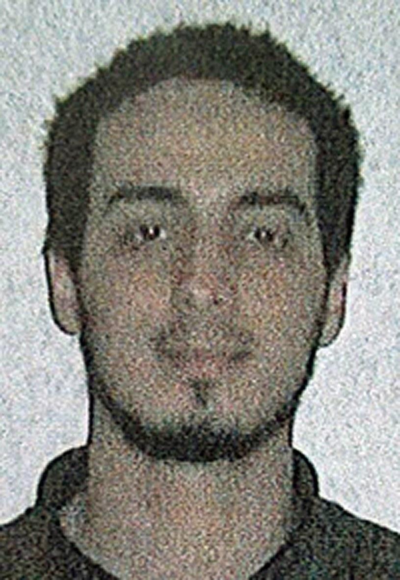 Najim Laachraoui, zdjęcie udostępnione w poniedziałek przez belgijską policję /PAP/EPA