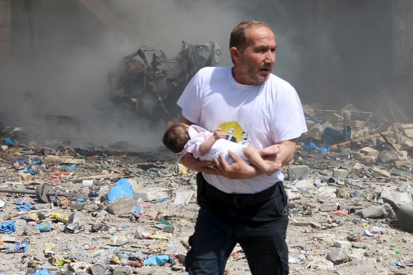 """""""Najkoszmarniejsza broń"""" w użyciu /Reuters /Agencja FORUM"""