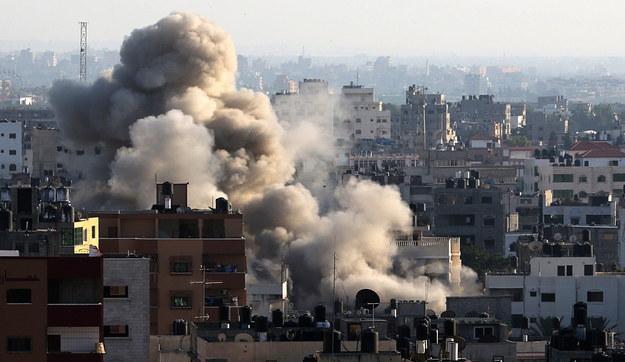Najkrwawsza noc izraelskich ataków na Gazę