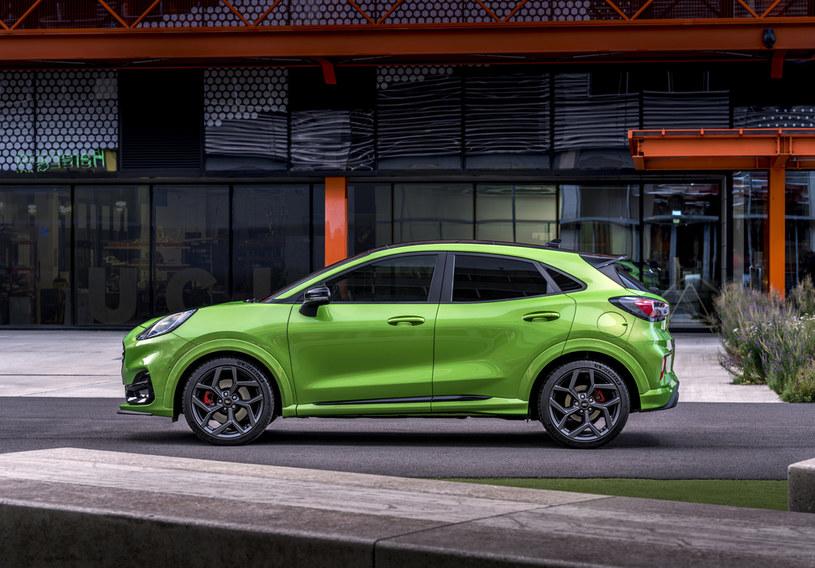 Najlepiej sprzedającym modelem Forda okazuje się niedawno wprowadzona na rynek Puma /