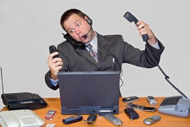 Najlepiej zostawić tylko jedną wiadomość telefoniczną w celach kontaktowych /© Panthermedia