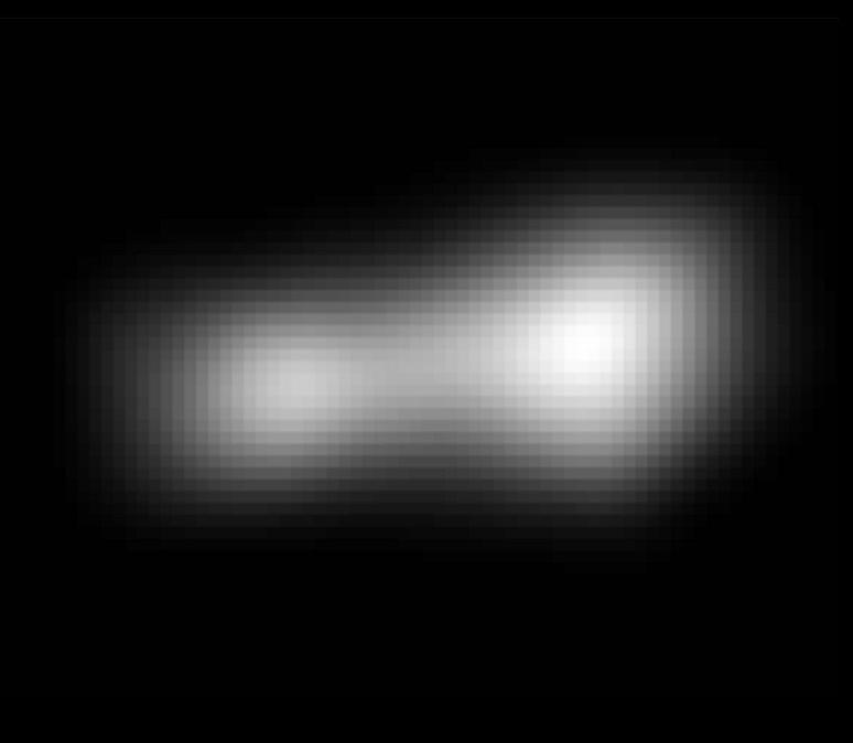 Najlepsze, dostępne w tej chwili zdjęcie Ultima Thule, jeszcze sprzed przelotu /NASA/JHUAPL/SWRI /Materiały prasowe