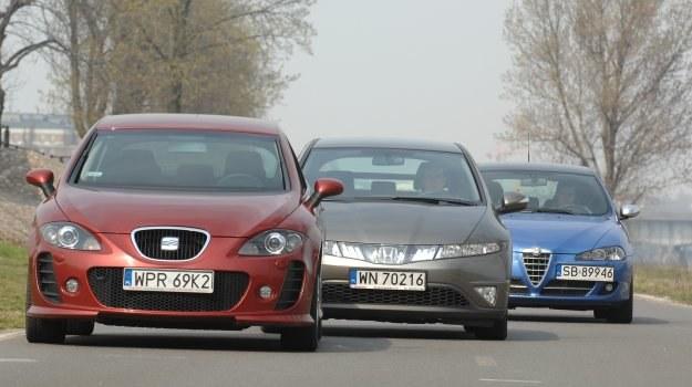 Najlepsze silniki benzynowe ma Honda. Za szeroką ofertę diesli wyróżniamy Alfę i Seata. /Motor