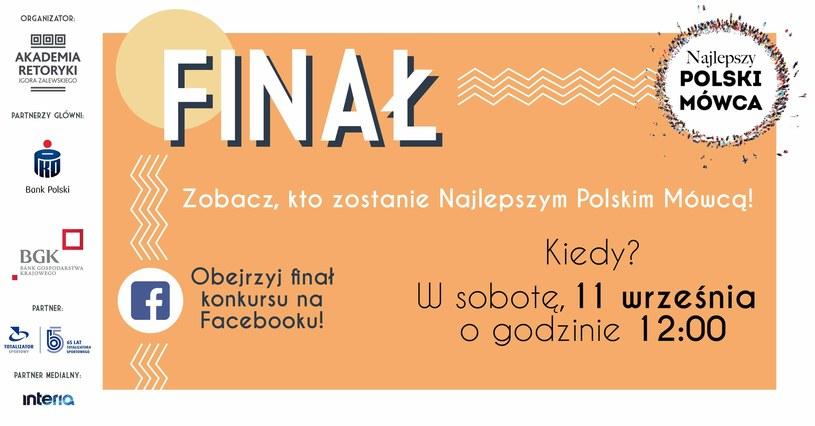 Najlepszy Polski Mówca /materiały prasowe