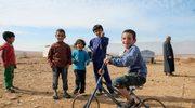 Najmłodsi mieszkańcy obozu Lamia Altum