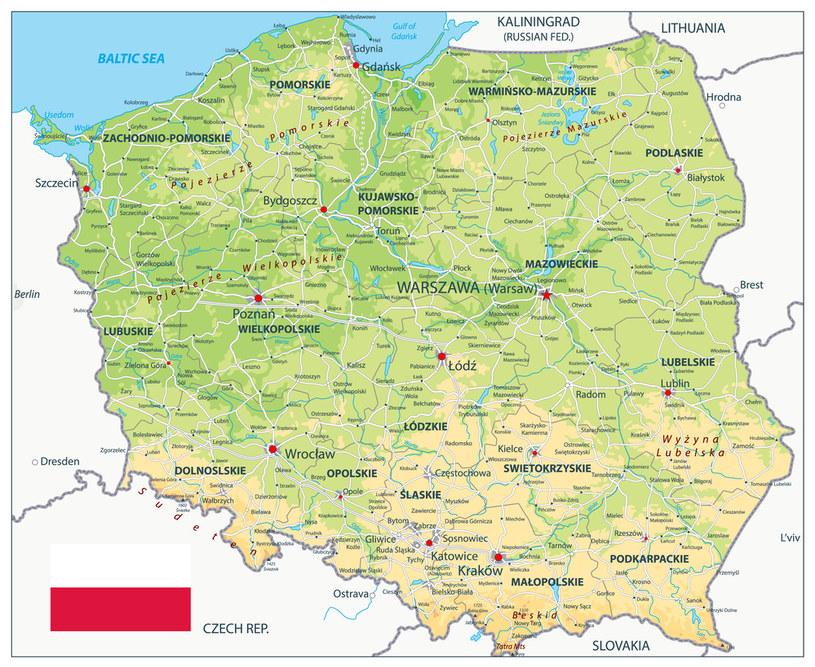 Najmniej jodu jest na południu Polski /123RF/PICSEL