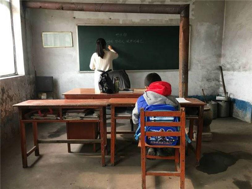 Najmniejsza szkoła świata mieści się w Chinach /East News