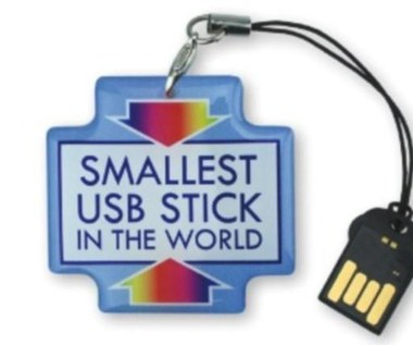 Najmniejszy pendrive świata mieści 16 GB danych
