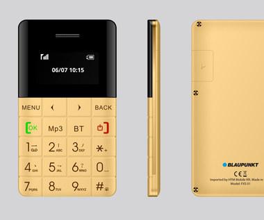 Najmniejszy telefon na rynku – Blaupunkt FXS-01