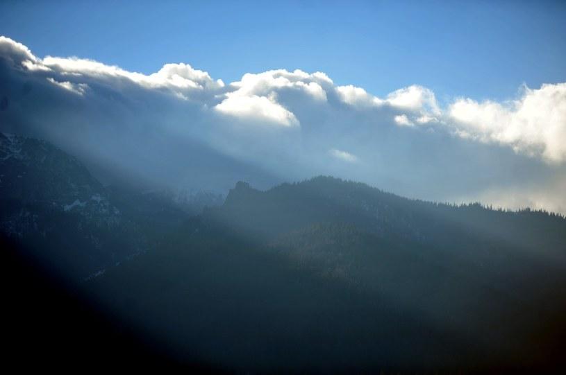 Najmocniej powieje w górach /Robert Lasyk /Reporter