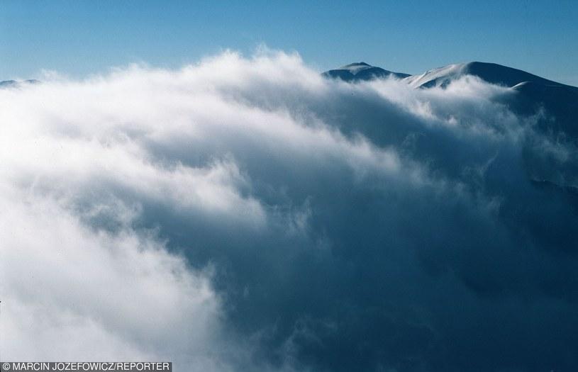 Najmocniej powieje w górach /Marcin Jozefowicz /Reporter