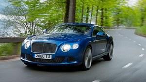 Najmocniejszy Bentley - Continental GT Speed