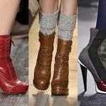 Najmodniejsze buty na jesień - trendy 2012/2013