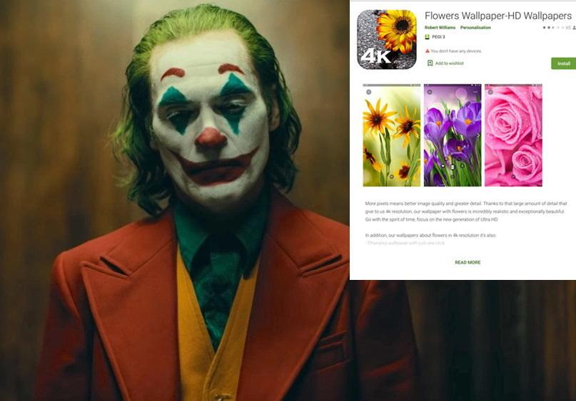 Najnowsza aplikacja zaatakowana przez malware Joker /materiały prasowe