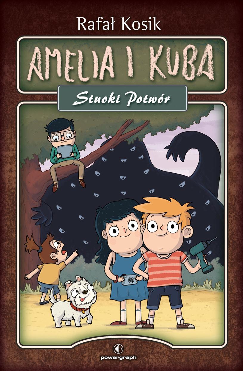 Najnowsza książka Rafała Kosika uczy dzieci ostrożności w sieci /materiały prasowe