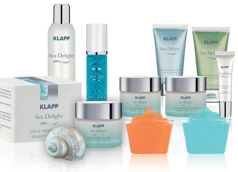 Najnowsza linia kosmetyków anti-aging marki KLAPP Cosmetics – Sea Delight /materiały prasowe