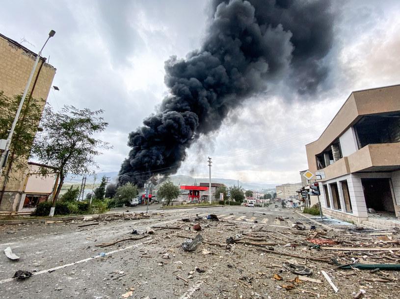 Najnowsza odsłona konfliktu zbrojnego w Górskim Karabachu rozpoczęła się 27 września /Pablo Gonzalez /East News