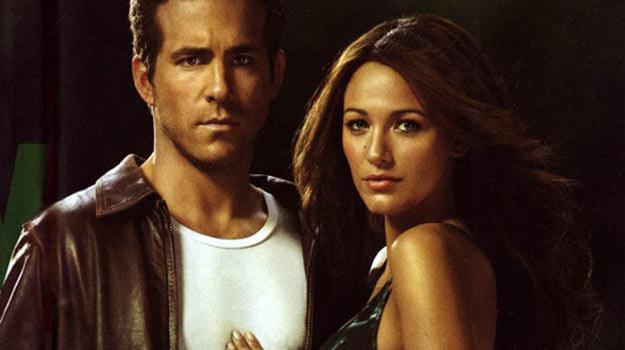 """Najnowszą produkcją Reynoldsa jest """"Green Lantern"""" (na zdjęciu z Blake Lively) /materiały dystrybutora"""