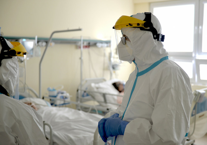 Najnowsze dane dot. hospitalizacji /LUKASZ SOLSKI/East News /Reporter