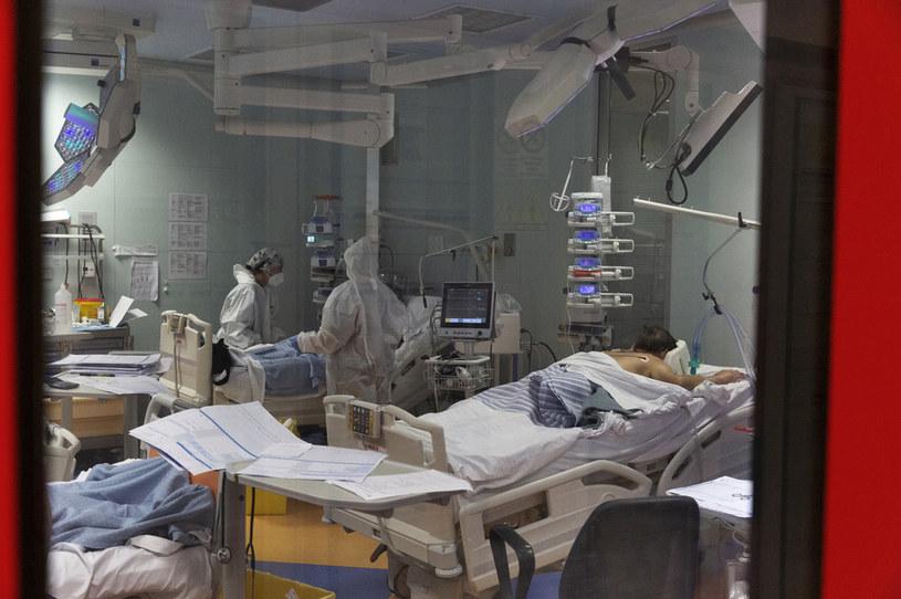 Najnowsze informacje o stanie epidemii w Polsce /Matteo Trevisan/NurPhoto /Getty Images