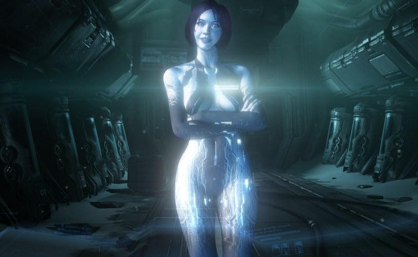 Najnowsze wcielenie Cortany - bohaterki serii Halo. Który z graczy nie chciałby takich wizji? a /materiały prasowe