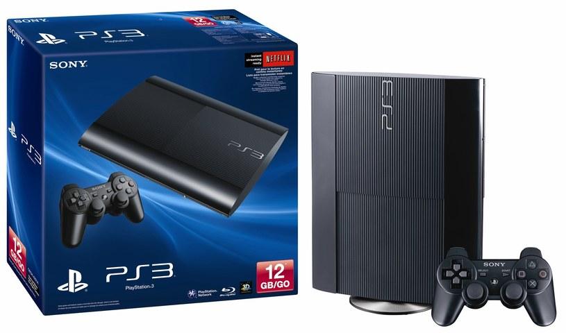 Najnowszy model konsoli PlayStation 3 - wersja Super Slim PlayStation /materiały prasowe