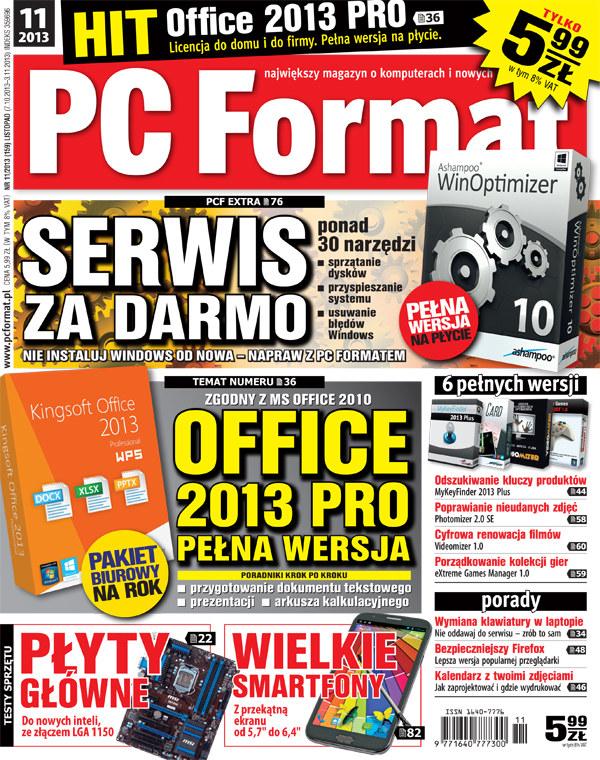 Najnowszy numer PC Format w kioskach od 7 października /INTERIA.PL