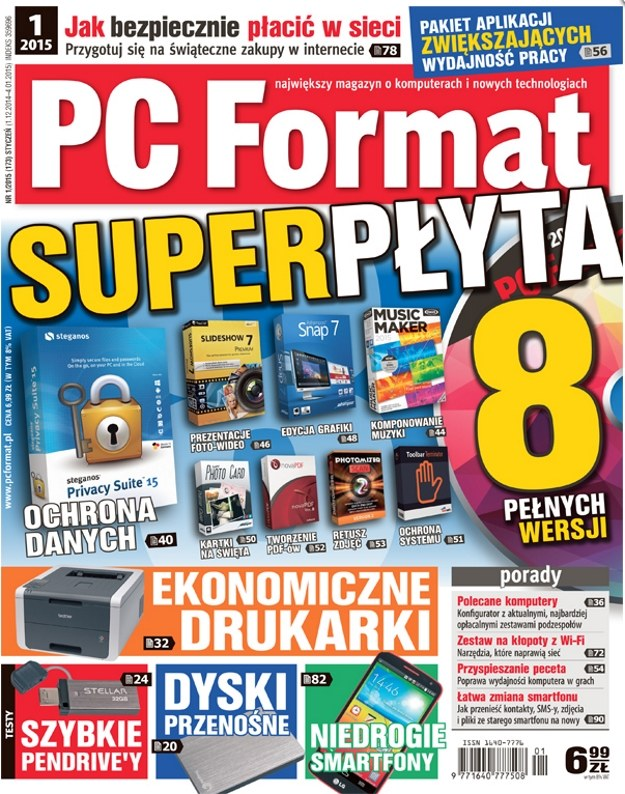 Najnowszy numer PC Formatu w sprzedaży od 1 grudnia /PC Format