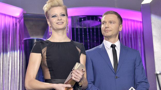 Najpiękniejsi 2012 - Małgorzata Kożuchowska i Krystian Wieczorek. /Baranowski /AKPA