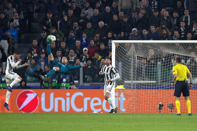 Najpiękniejsze nożyce w historii futbolu? Tak twierdzi Cristiano Ronaldo /Marco Canoniero/LightRocket /Getty Images