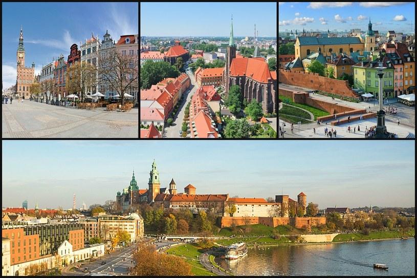 Najpiękniejsze polskie miasta /123RF/PICSEL