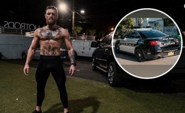 Najpierw areszt, potem kaucja. Gwiazda MMA Conor McGregor w akcji
