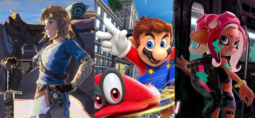 Najpopularniejsze gry na platformę Nintendo Switch /materiały prasowe