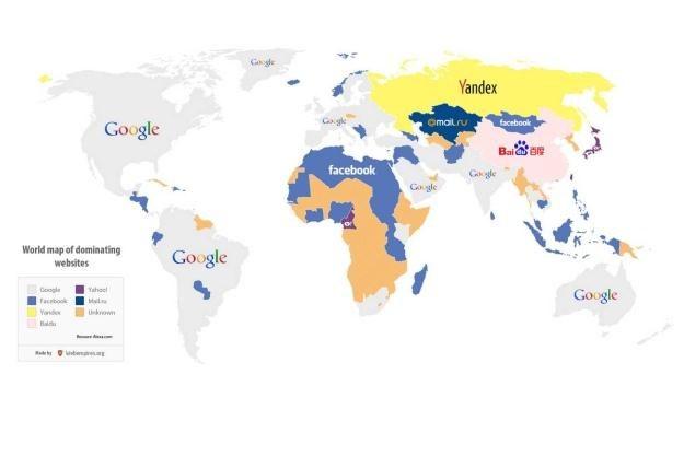Najpopularniejsze strony na świecie Fot. Webempires.org /vbeta