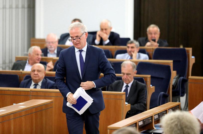 Najpoważniejszym kandydatem na marszałka Senatu jest Sławomir Rybicki – informuje TVN24 /Piotr Molecki /East News
