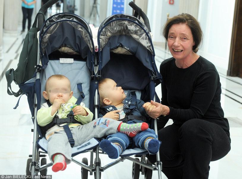Najstarsza matka w Polsce i jej dzieci /Jan Bielecki /East News