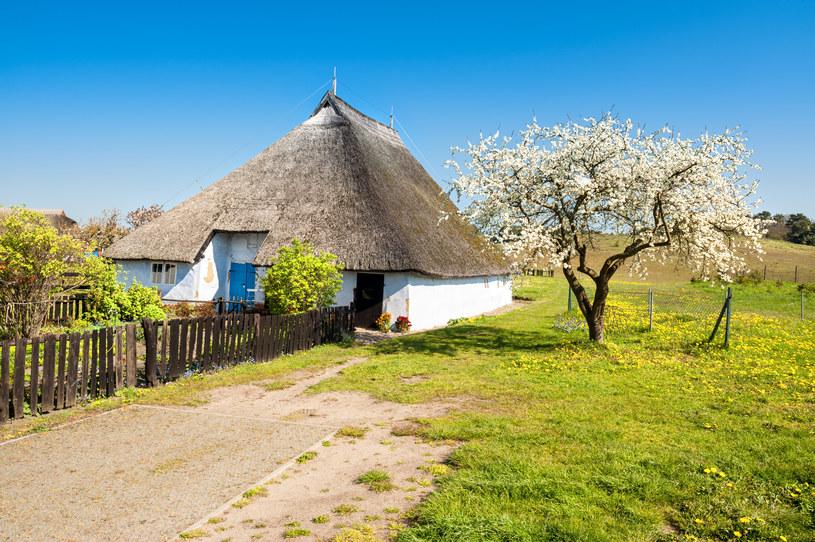 Najstarsze domy na wyspie są kryte jeszcze strzechą /123RF/PICSEL
