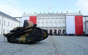 Najstarszy czołg Wojska Polskiego gotowy na święto 11 Listopada